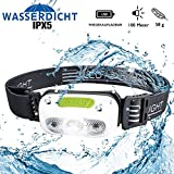 Stirnlampe LED wasserdicht Kopflampe