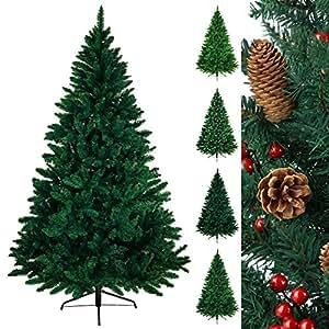 Albero di Natale artificiale WONDERLAND in 5 misure e 3 colori di BB Sport, Colore:verde scuro; 240 cm (1.560 punte)