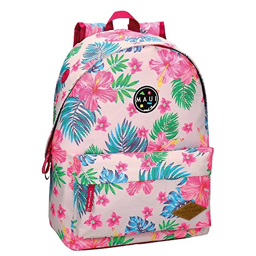 Maui-and-Sons-5082361-Lice-Aloha-Mochila-Escolar-42-cm-2205-Litros-Multicolor