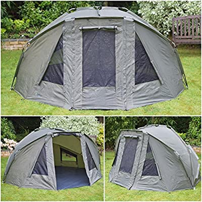 Quest Compact MK3 Carp Fishing 3 Rib 1-2 Man Bivvy, Day Shelter, Tent, Brolly from Quest Tackle