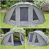 Quest Compact MK4 Tente de Bivouac de pêche à la carpe colonne d'eau 6000 mm Bivvy Bivy – Tente de camping - 1-2 man personne places