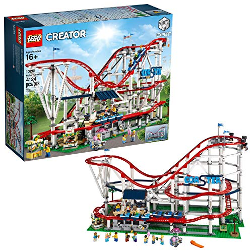 LEGO Creator Expert - Montaña rusa, emocionante juguete de construcción de atracción de feria (10261)