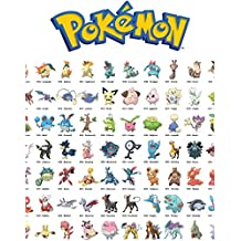 Pokemon: Pokedex, Character Guide, Lists, & Names (English Edition)