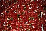 0,5 m * 1,4 m STOFF Weihnachten Kinder BAUMWOLLE STOFFE