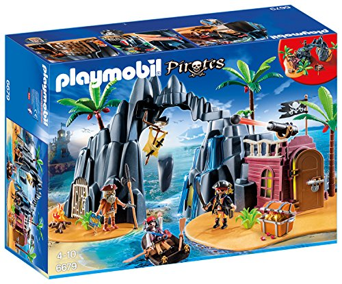 Playmobil 6679 - Piraten-Schatzinsel