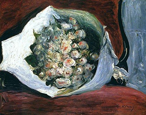 Das Museum Outlet-Bouquet in Aufenthaltsraum, 18781-Leinwand Print Online kaufen (152,4x 203,2cm) -