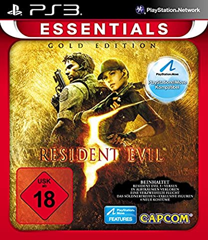 Resident Evil 5 - Gold (Move-Edition) [Essentials] (Resident Evil Controller)