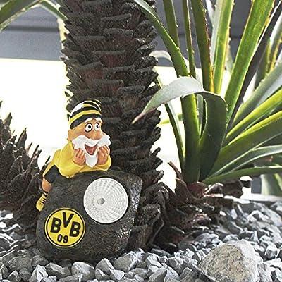 BVB 09 Borussia Dortmund Gartenzwerg 3er-Set als Pflanzenspot