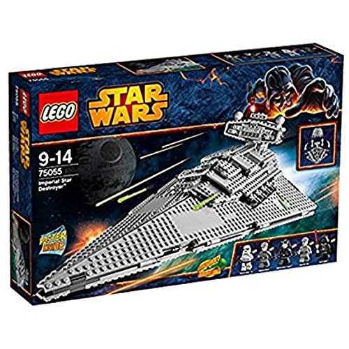 LEGO Star Wars 75055 - Imperial Star Destroyer (Lego Minifigur Navy)