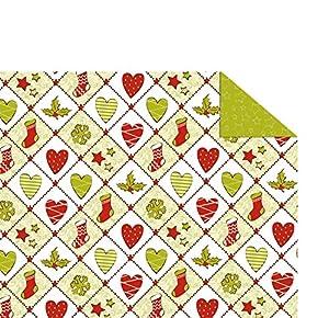 Ursus 13704601 Tradition - Caja de cartón, diseño navideño
