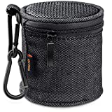 Bluetooth Speaker Case, Gritin Portable Bluetooth Speaker Bag with Carabiner for Anker SoundCore mini/Betron KBS08 BPS60 Wireless Speaker
