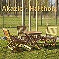 Kindersitzgruppe 4 teilig, Akazie