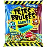 Bonbons barres goûts framboise/cola Verquin