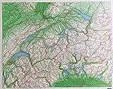 Schweiz Kunststoffrelief: 1:500000 (Kümmerly+Frey Thematische Karten, Relief) -