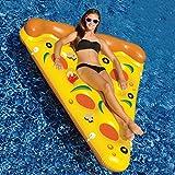 Giant Pizza Pool Party Float Raft, Aufblasbare Floatie Lounge/Pool Liegen Spielzeug für Erwachsene...