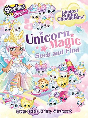 Shoppies Unicorn Magic Seek & Find (Shopkins: Shoppies, Band 2) (2-band Puzzle Ring)