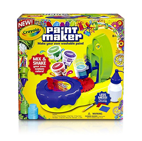 Crayola - kit per fare flaconcini di pittura