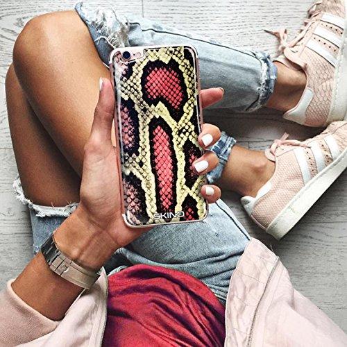Skino™ Custodia Skin 3D Anti-Gravità Case Cover Hands-Free Selfie Resina Gel Ultra Sottile Antiurto per iPhone 5 / 5s / 5 SE / 6/6 Plus / 6s / 6s Plus / 7/7 Plus Anti-Scratch Slim Protezione al 100% d AP-12