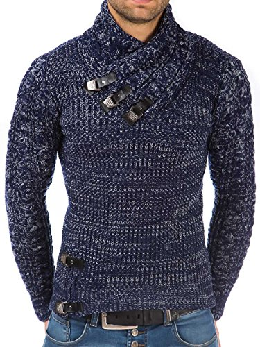 Tazzio - Pull - coupe cintrée - Homme Navy-Blue
