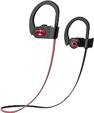 Cuffie Bluetooth Sport IPX7 Mpow Cuffie Bluetooth 4.1 Impermeabile, In-Ear Cuffie Sport AptX, Cuffie Bluetooth A2DP Impermeabile, CVC 6.0 Cancellazione del Rumore, Cuffie Sport Bluetooth con EVA Borsa per iPhone 8/8Plus,X,7, 7 Plus, 6s, 6s Plus, 6, 6 Plus, Samsung, Huawei, Sony ecc
