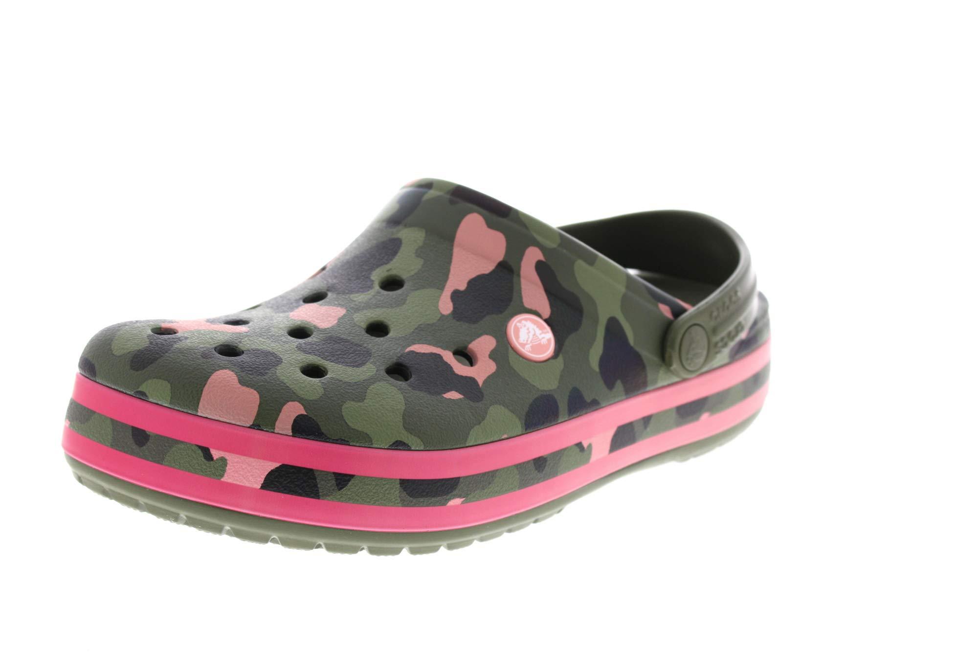 Crocs Crocband Seasonal Graphic Clog, Zuecos Unisex Adulto