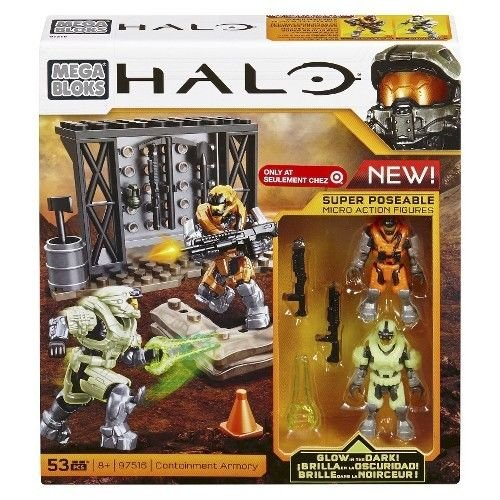 Mega Bloks Halo, Containment Armory (97516) (Halo Containment Mega Bloks)