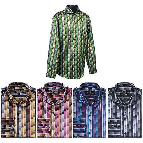 Sunrise Outlet - Chemise habillée - Avec boutons - Homme Noir - Noir