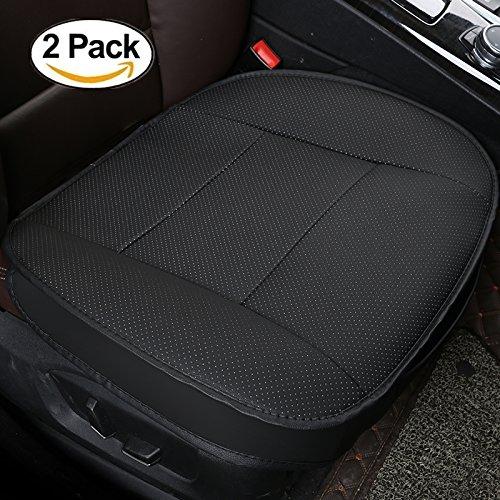 HCMAX Luxus Weich Autositzüberzug Kissen Pad Matte Schutz für Autozubehör für Limousine Fließheck SUV 3D Kantenverpackung Schutzhülle