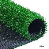 WENZHE Rasenteppich Rasenteppich Kunstrasen Kunstrasenteppich Isolierung Sonnencreme Kunststoff Teppich Draussen Innen 2 Meter Breit, 4 Dicken, Größe Anpassbar (Farbe : 30mm, größe : 2x2m)