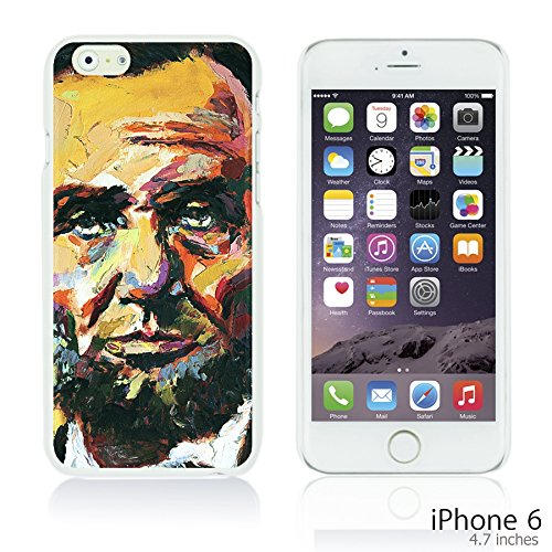 OBiDi - Celebrity Star Hard Back Case / Housse pour Apple iPhone 6 / 6S (4.7 inch)Smartphone - Che Guevara Abraham Lincoln