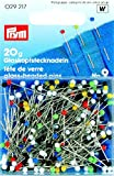 Prym 0,60 x 30 mm 20 g Nummer 9, glass-headed Pins