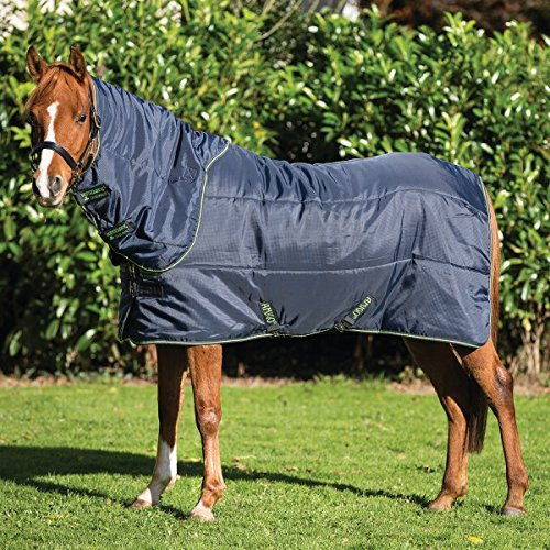 Horseware Amigo Insulator Pony Plus Medium - Navy & Green