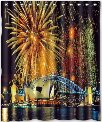60x72-inches-firework-beyond-the-sydney-opera-house-shower-curtain-new-waterproof-polyester-fabric-b