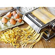 Máquina para elaborar pasta de acero inoxidable (ancho hasta 17,5cm, precio único)