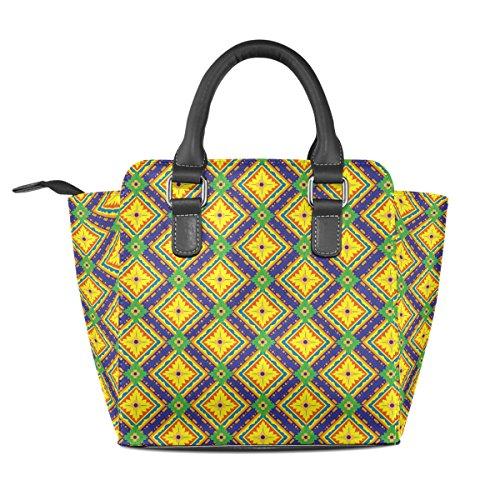COOSUN, Borsa a mano donna multicolore Multicolour M Multicolor#3