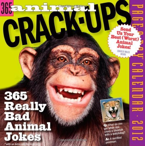 Download Animal Crack Ups Page A Day 2012 Calendar By