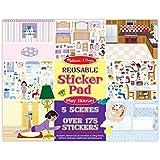 Melissa & Doug Reusable Sticker Pad - Play House!, Multi Color