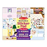 #4: Reusable Sticker Pad - Play House!