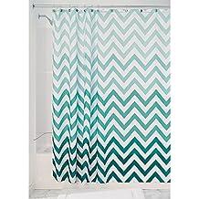 InterDesign Ombre Chevron tela cortina de ducha–183x 183cm, color multi color
