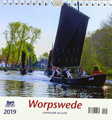 Worpswede 2019 Postkartenkalender: Landschaft im Licht