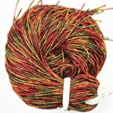 #7: Embroiderymaterial Bullion Wire/Nakshi For Aari , Zardosi Embroidery & Jewellery Work,1MM, Multi Color(100 Gram)
