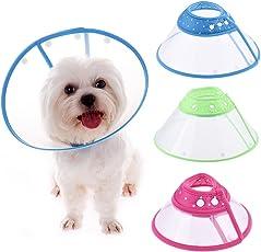 Schutzkragen Halskrause Haustierpflege Wunde dot Kragen für Hunde Katzen Pet Haustiere