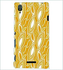 PRINTSWAG LEAVES Designer Back Cover Case for SONY XPERIA T3