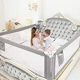 ZEHNHASE Barandilla de La Cama Guardia de Seguridad para Niños, Portátil Barrera de cama para bebé Protección contra caídas,