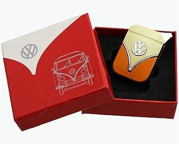 VW Käfer Boxer VOLKSWAGEN Schlüsselanhänger NEU+OVP orange