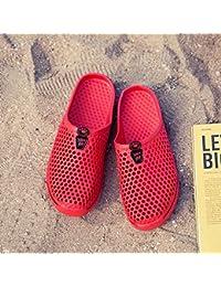 Frau Sommer Hausschuhe Baotou beach Reise Tide und ein paar coole Hausschuhe für Männer, Frauen, 40 Rot