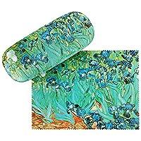 VON LILIENFELD Glasses Case Women Motif Floral Art Vincent van Gogh: Irises