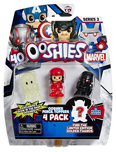 Ooshies Marvel 4 Unidades Asst – Wave 2