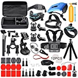 Deyard ZG-634 Kit Premium Set di Accessori per GoPro Hero 7 Hero 2018, Hero 6, Hero 5 Black, Hero 4, Hero 5 Session, Hero Session YI Campark Akaso Crosstour Apeman Sony Action Camera