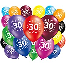 20 globos cumpleaños 30 años